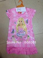 2014 explosion models girls summer dress models of foreign trade children's clothes baby spot dress