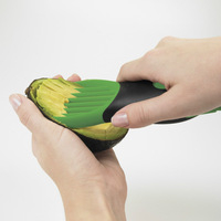 Free shipping 2014 Hot sale new Avocado slicer fruit slicer avocado peeler fruit processor good grips