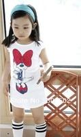 2014 Hot retail Spring children Girl New Long T-Shirt  free shipping !