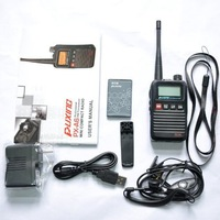 Drop Shipping PUXING PX-A6  VHF 136-174MHZ Mini compact two way radio transciever with FM radio best