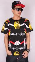 Brand short t shirt  summer shirts LK last kings t-shirts men's clothing new 2014 hip hop t-shirt  hiphop mma john john