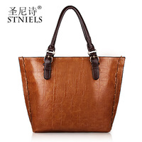Women bag new collection 2014 PU one shoulder handbags fashion serpentine pattern bag casual bag trend women's handbag