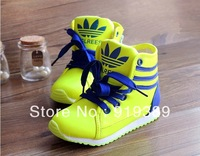 2014 child sport shoes male shoes girls boots leather sports shoes ball boots casual skateboarding shoes