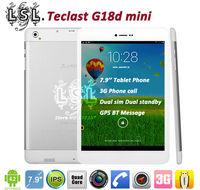 Original 7.9 inch Teclast G18d mini 3G Phone Call Tablet PC MTK8389 Quad Core 8 Android 4.2 dual sim WCDMA GPS HDMI Bluetooth
