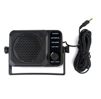 Free Shipping New Mini External Speaker NSP-150v  For walkie talkie Kenwood Motorola ICOM Yaesu CB Radios Black