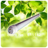 SMD 2835 LED tube light lamp T8 LED fluorescent tube light bulb 1200mm 1.2m 4 feet 4ft SMD2835 2200lm 24W 85-265V free shipping