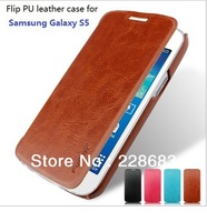 New available Best PU leather flip case for Samsung Galaxy S5 i9600 luxury fashion phone protector cover cases factory wholesale