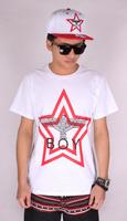 2014 street fashion short sleeve eagle pattern printing t-shirt BOY LONDON cotton t shirts XXS, hiphop pyrex john john hba geek