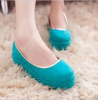 2013 platform shoes fashion shoes fashion women's single shoes boat shoes wedges female platform Women dipper shoes