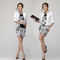 Korean occupation OL Slim vest skirt suit women's two-piece dress skirt office uniform style women work wear suits YZ308