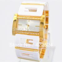 Fashion Luxury Rhinestone Women / Lady Dress Watch Quartz Bracelet Wristwatch Female Hours Japan Movement Stainless Steel