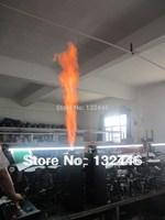 2pcs/lot Free shipping DMX control fire machine stage effect equipment dj machine fire flame machine for wedding