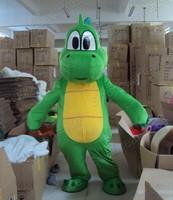 Yoshi Dinosaur Super Mario  Mascot  Mascot Costume  Cartoon Character Costumes mascot costume Fancy Dress Party Suit