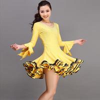 Skirts Latin dance skirt ballroom dancing skirt expansion skirt dress vitellus gbq2000 one-piece dress