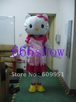 Hot sale for adult kitty cat Mascot Costume, Advertising Costume,Cartoon Costume Easter cartoon Fancy sexy  free shipping
