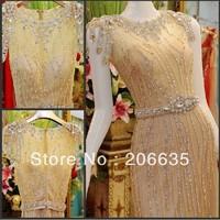 On Sale Glass Crystal Special Beaded evening Dresses Rhinestones 25% off  NEWE-0522