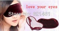 free shipping 2pcs/ lot tourmaline eye patch goggles improve sleep eliminate dark circles relieve eye fatigue myopic amblyopia