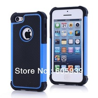 for Iphone 5c Hard Case 2 in 1 Soccer Skin Combo Hybrid Defender Bumper High Impact Body Hard Pc&silicone Case