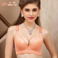 Spring women's underwear high quality adjustable bra accept supernumerary breast push up bra small 8399