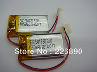 wholesale 5*17*30mm 250mAH 3.7V rechargeable li-polymer battery cell with PCM ,200pcs/lot