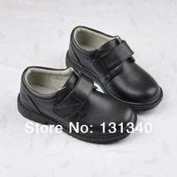 Free shipping New 2014 Boy's shoes, boy student black fashion shoes, children leather uniform shoes