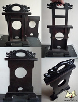 Hand guillotine hay cutter hand-sets magic props magic