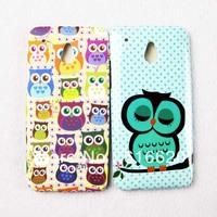 1 x Super Cute OWL TPU Gel Skin Back Case Cover for HTC ONE MINI M4