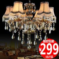 K9 crystal pendant light lighting modern brief fashion candle art pendant light 1183