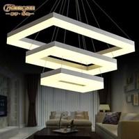 Modern rectangle led pendant light new fashion chinese style led lamps