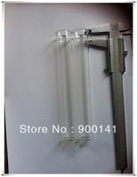 50ml 24*165mm glass tube, tubular glass bottles, 48pcs, colorful glass tubes