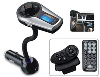 XN-398 Bluetooth Car Handsfree MP3 Player with LCD Display, FM Radio and RF Remote Control