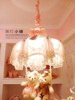 Pendant light rustic princess bear lovers pendant light lace pendant light fabric pendant light