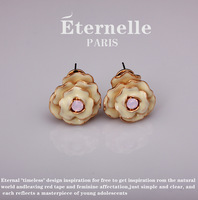 Fashion drop earring eternelle crystal stud earring female decoration earrings earring new year gift