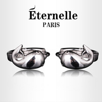 Fashion fashion jewelry eternelle 925 pure silver earrings hoop earrings birthday present for girlfriend gifts