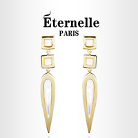Eternelle elegant earrings earring tassel design long drop earring 2013 handmade