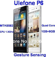 Ulefone P6 - 6.0 inch FHD IPS Screen MTK6582 1.3GHz 1GB RAM Air Gesture Android4.2 Quad Core 3G Smart Phone NOT HUAWEI Ascend P6
