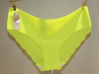 10pcs/lots Lady's Pure Color Non-trace a chip Briefs Panties Sexy Seamless Panties