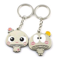 Korea Korean fashion couple keychain little mushroom factory direct wholesale STA154