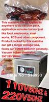 DHL FEDEX Free shipping, sealing width 260MM,plastic bag desktop sealer,vacuum packaging sealing machine