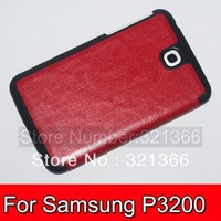 100 pcs  Super thin slim smart Protective  PC cover for Samsung T210 / T211 / P3200    hot sale  Large spot