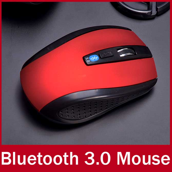 Ergonomic Non-slip Wireless Optical Bluetooth Mouse 1600 DPI Gaming Bluetooth 3.0 Mice For Laptop Notebook Computer Peripherals(China (Mainland))