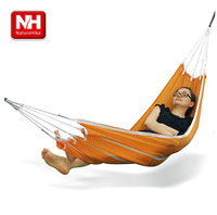 Ultra-light naturehike-nh outdoor hammock parachute cloth single hammock casual double hammock
