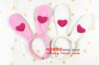 30g hair accessory rabbit lady supplies rabbit ears headband love rabbit ears