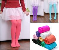 13 Colors Girls Baby Velvet Leggings Pantyhose Vintage Lady Watercolor
