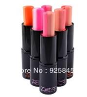 Three color gradient bite lip makeup moisturizing lip glaoss lipstick moist lipstick 6pcs/lot Freeshipping
