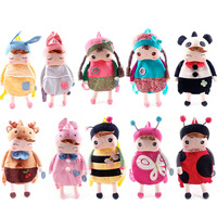 New 2014 fashion cartoon child backpack baby kindergarten small school bag birthday gift,free shipping