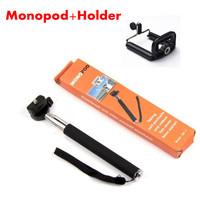 22-109cm Portable Handheld Tripod Digital Camera Telescopic Aluminum Extendable Monopod For iPhone Samsung