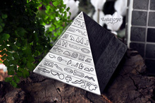 Tin Egyptian Pyramids classic retro decorative carving ashtray Collection BEST FOR GIFT!!!(China (Mainland))