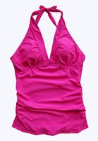 Free Shipping Ladies padded Tankini Top Swimwear For  Women push up New 2014