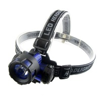 Headlight glare 3w high power led headlamp miner lamp v3 caplights plastic headlamp fishing tackle